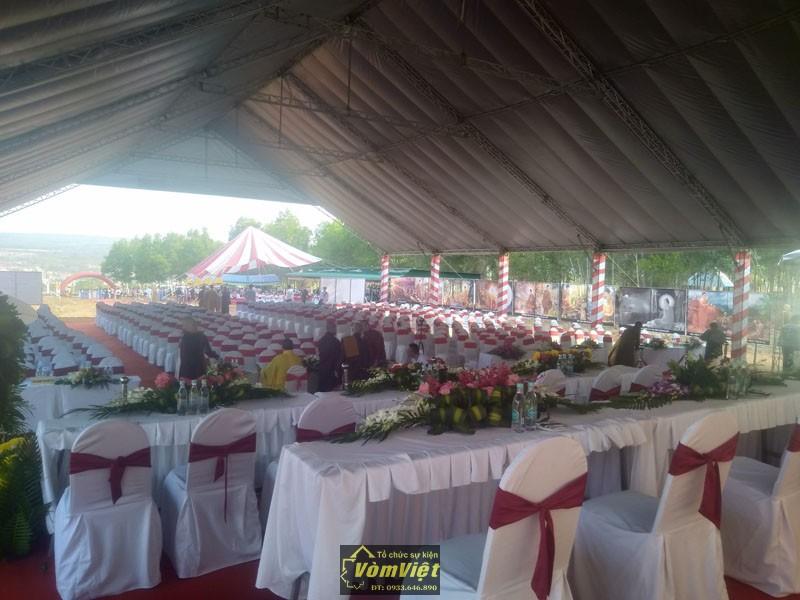 Lễ Đặt Viên Đá Xây Dựng Thiện Viện Từ Lâm Tại Bình Thuận