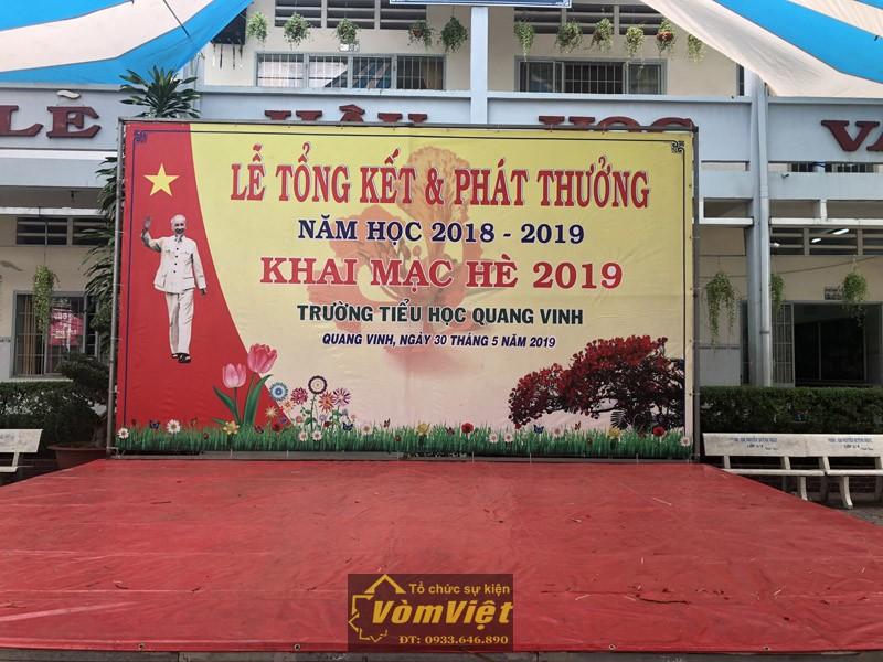 Lễ Tổng Kết Và Khai Mạc Hè 2019 – Trường Tiểu Học Nguyễn An Ninh – Trường Tiểu Học Quang Vinh