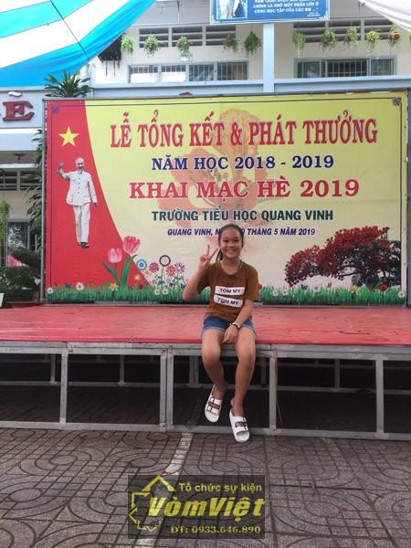 Lễ Tổng Kết Và Khai Mạc Hè 2019 - Trường Tiểu Học Quang Vinh - hình 3