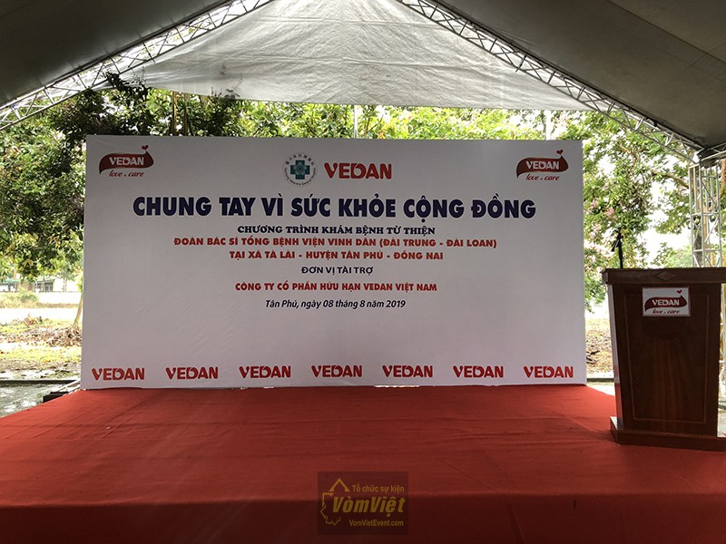 Chương trình Chung Tay Vì Sức Khỏe Cộng Đồng – Công Ty VEDAN Tân Phú