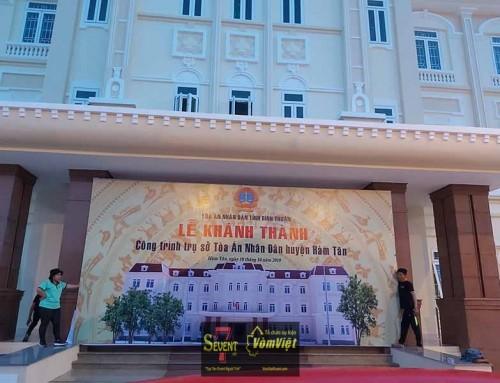 Sự Kiện Lễ Khánh Thành Tòa Án Huyện Hàm Tân – Bình Thuận